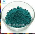 materias primas de cerámica del pigmento verde pavo real color