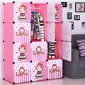 أثاث غرفة نوم الاطفال مع تصميم الرسوم المتحركة الباب( fh-- al0041-- 12)