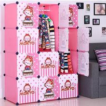 Kids bedroom furniture with Cartoon design door (FH-AL0041-12)