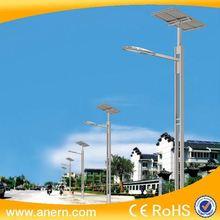 Solar light fitting 30W led light equipment with solar panels for solar street light