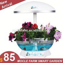 Auto aeroponics flower pot grow system auto plant growth