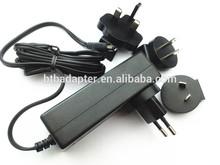 interchangeable ac plug 12V 2A 12v 5a 1A 5V 2A power adapter with USA/Australia/Europe/UK plugs .dubai.Kuwait