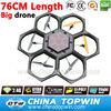 China Quad Copter 2.4G 6 axis gyro 76CM Length rc quadcopter big drones