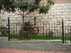 2014 Top-selling modern handmade iron craft fence