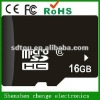 ISO9001 and ISO14001 Factory hot sale micro sd memory card 16gb
