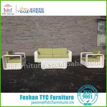 TC5320 Foshan rattan hotel sofa furniture set