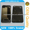 OEM replacement Rear Housing Assembly Back Glass Cover for iPhone 4 back cover