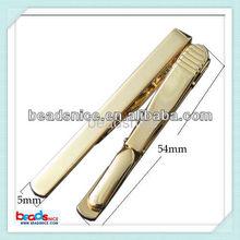 Beadsnice Beadsnice ID 23637 brass Wholesale alibaba jewelry Flat Tie Clip basketball tie clip