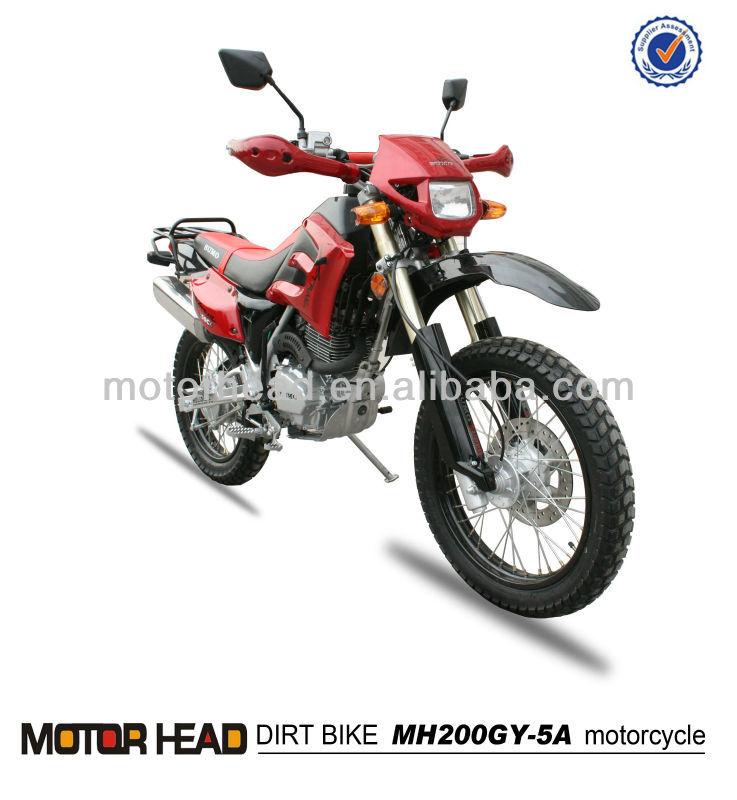 Estilo clásico off road dirt bike motorcycle 200cc 250cc 150cc