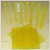 100% virgin polyurethane sheet, PU sheet with yellow, brown, red, green