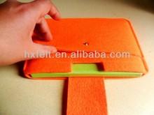 Fashoin felt tablet case with warm feel in winter
