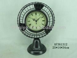 Retro flip down clock quartz rhythm clock