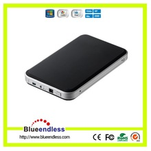 Rubber Oil Aluminum Case 2.5 Inch USB 3.0 External HDD Enclosure Support 12.5 mm HDD