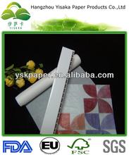 gebleicht pergamentpapier für verpackung von lebensmitteln