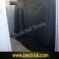 G654 cuadrilla vio losas, de sésamo negro granito, padang losas de granito negro
