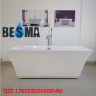 Acrylic bacteria-free freestanding large plastic bath tub B-7105