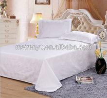 2015 china 100% cotton new design bedding bed sheet set flat sheet