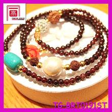 China Women Jewelry Buddha Beads Bangles 22k indian gold jewelry