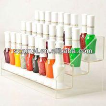 2013 Dongguan POP acrylic nail tables/acrylic nail tables manufacture