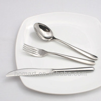 Hot sale stainless steel steak knife and fork spoon cutlery set