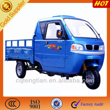 2015 New Closed Cabin Cargo Tricycle with Side Doors