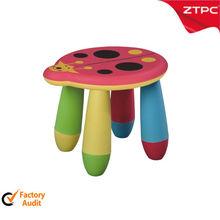 PP plastic kids bedroom stool