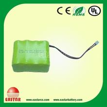 9.6V 1200mah NIMH aa rechargeable battery