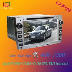 Peugeot 408 car dvd/peugeot 308 2 din car dvd player/peugeot 308 navigation with bluetooth