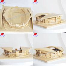 Stadium Clay Item, Building Clay Item, House Clay Item