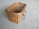 natural high quality wicker bicycle basket wholesale LYW1302