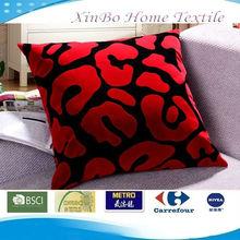 Embossing 55*55cm Big Square Soft Suede Fabric Sofa & Car Cushion