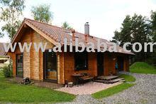 log house 92 sqm plus upstairs, low carbon foot print