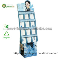 Skin whitening products show paper display stand