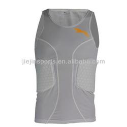 Custom Men's Compression Sleeveless Basketball Top
