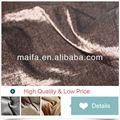 100% polyester rideaux de paillettes d'argent