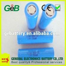 GEB rechargeable 18650 battery,3.7v icr 18650 li-ion rechargeable battery,li-ion battery 3.7v 2000mah