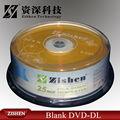 طبقة مزدوجة دي في دي مع دي في دي الفيلم 8x 8.5gb القدرات المصنوعة في الصين