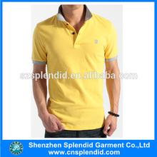 2015 Customized men's polo t-shirts in fashion