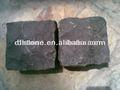 Naturel de Split Zhangpu noir Granite Cube pavé