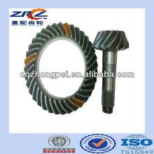 China roda de coroa e pinhão engrenagens para automóveis e caminhões peças