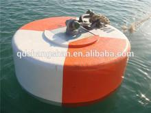 Qingdao Sunshine supply US Coast Guard Chain Through marine Buoy,mooring anti seawater corrosion buoy