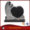 shanxi black granite memorials angel tombstone