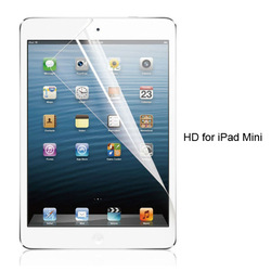 Clear screen protector for iPad mini/mini2 with factory price