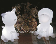 3D Cute Appearance led desk light with Rainbow Color Changing