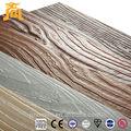 2013 grão de madeira de fibra de cimento da parede exterior do painel