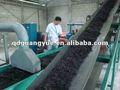 Migalha de borracha máquinas/xk-450 pó de borracha máquina/reciclagem de pneus máquina para fazer o pó de borracha