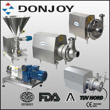 DONJOY sanitary centrifugal,CIP,lobe,mixing pump,food pump