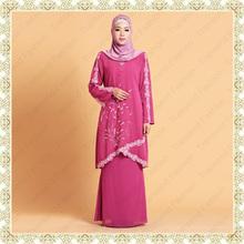 Transend unique design islamic clothing women baju kebaya muslim