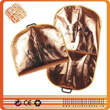 peva zipper suit cover printing logo suit bag