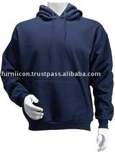 Blue fleece hoodie/hoodies sweatshirt